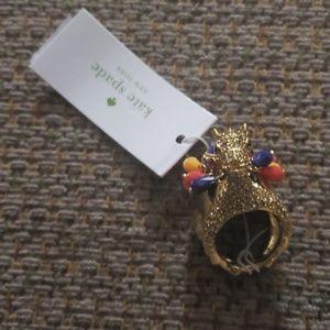 Kate Spade Camel Ring
